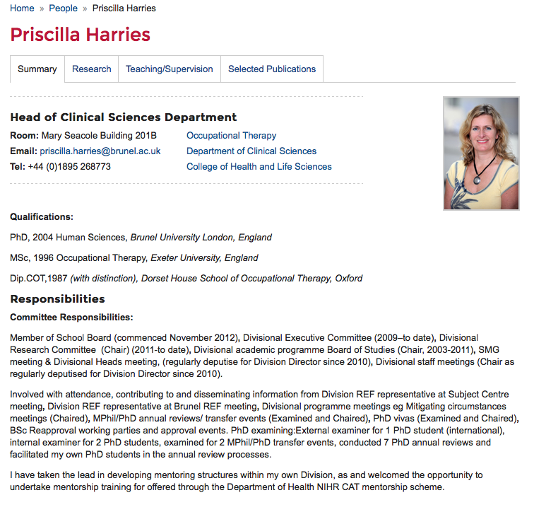 Priscilla Harries